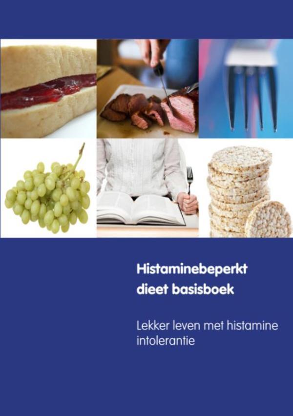 Cover Histaminebeperkt dieet basisboek