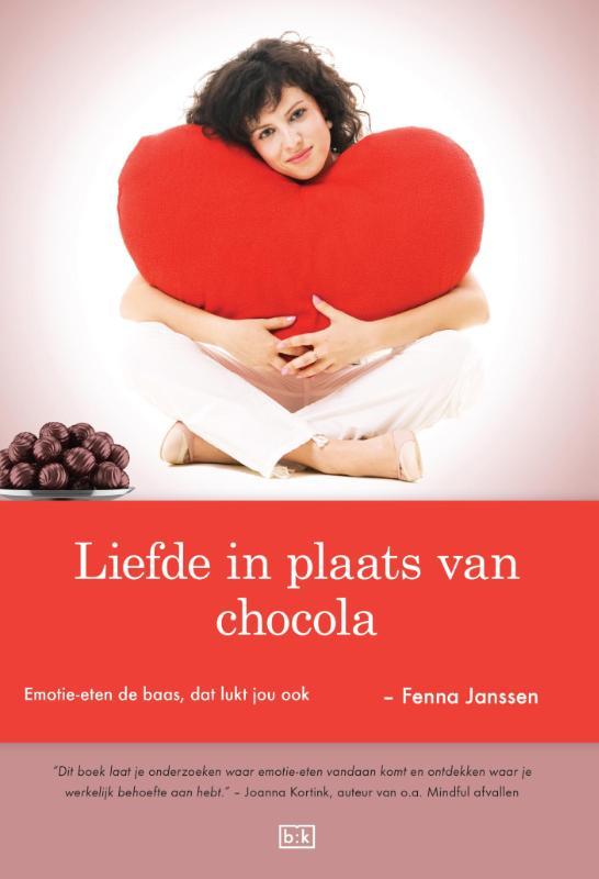 Cover Liefde in plaats van chocola