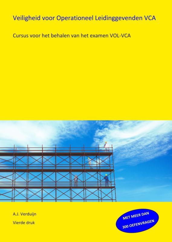 Cover Veiligheid voor Operationeel Leidinggevenden VOL-VCA