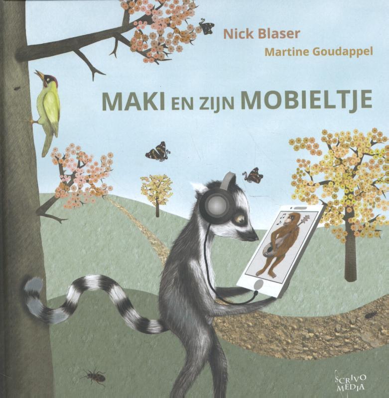 Cover Maki en zijn mobieltje