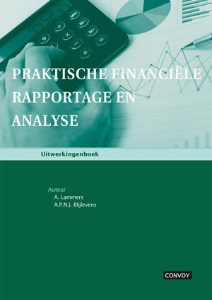 Cover Praktische financiele rapportage en analyse