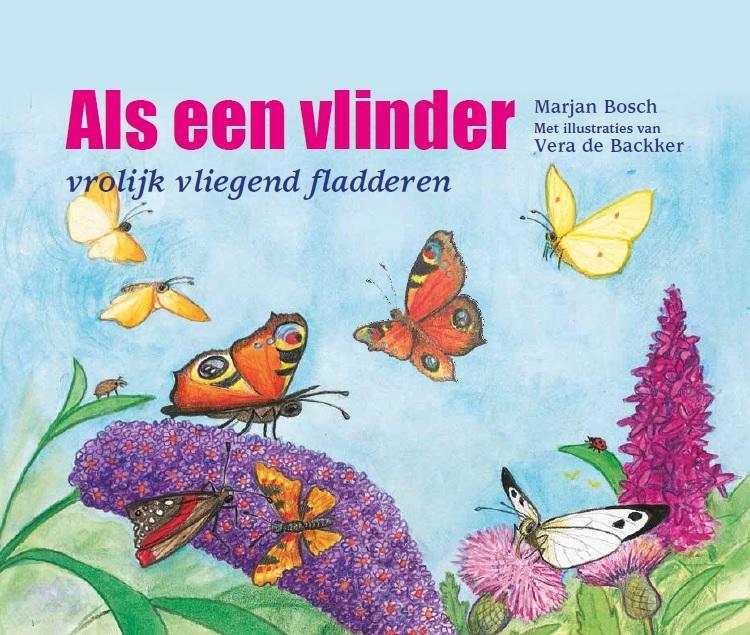 Cover Als een vlinder