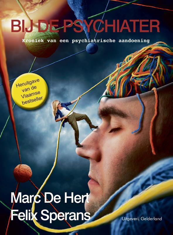 Cover Bij de psychiater
