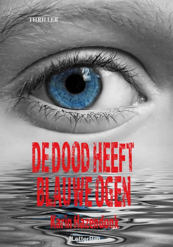 Cover De dood heeft blauwe ogen