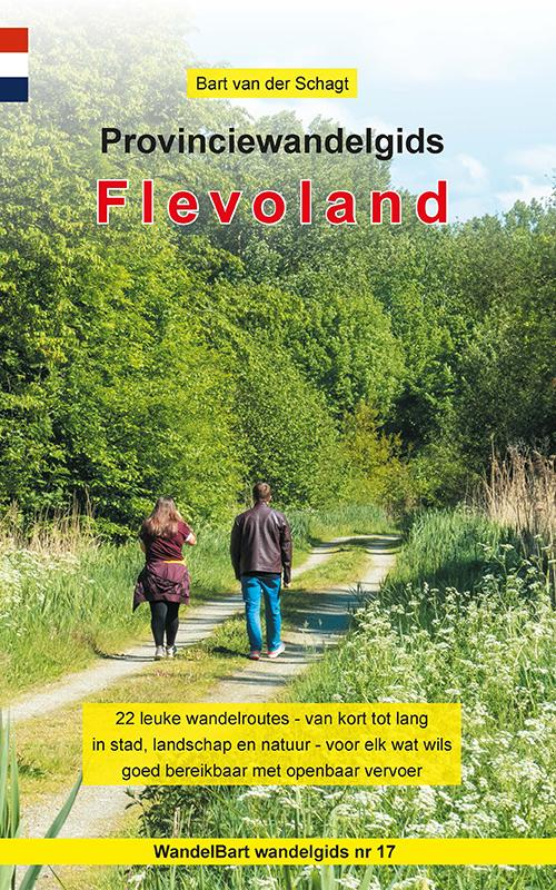 Cover Provinciewandelgids Flevoland