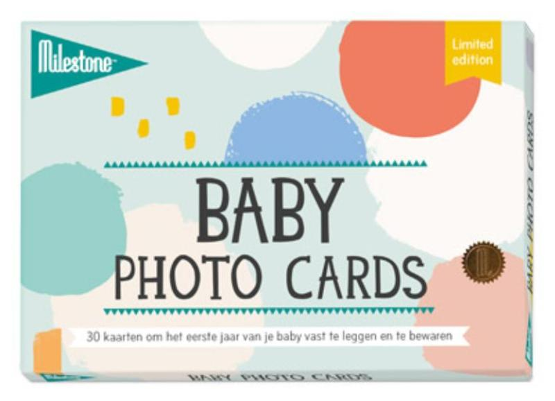 Cover Baby photo cards cotton candy