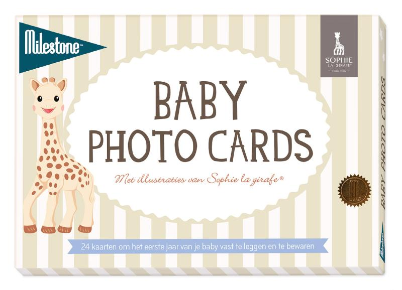 Cover Baby photo cards Sophie la girafe