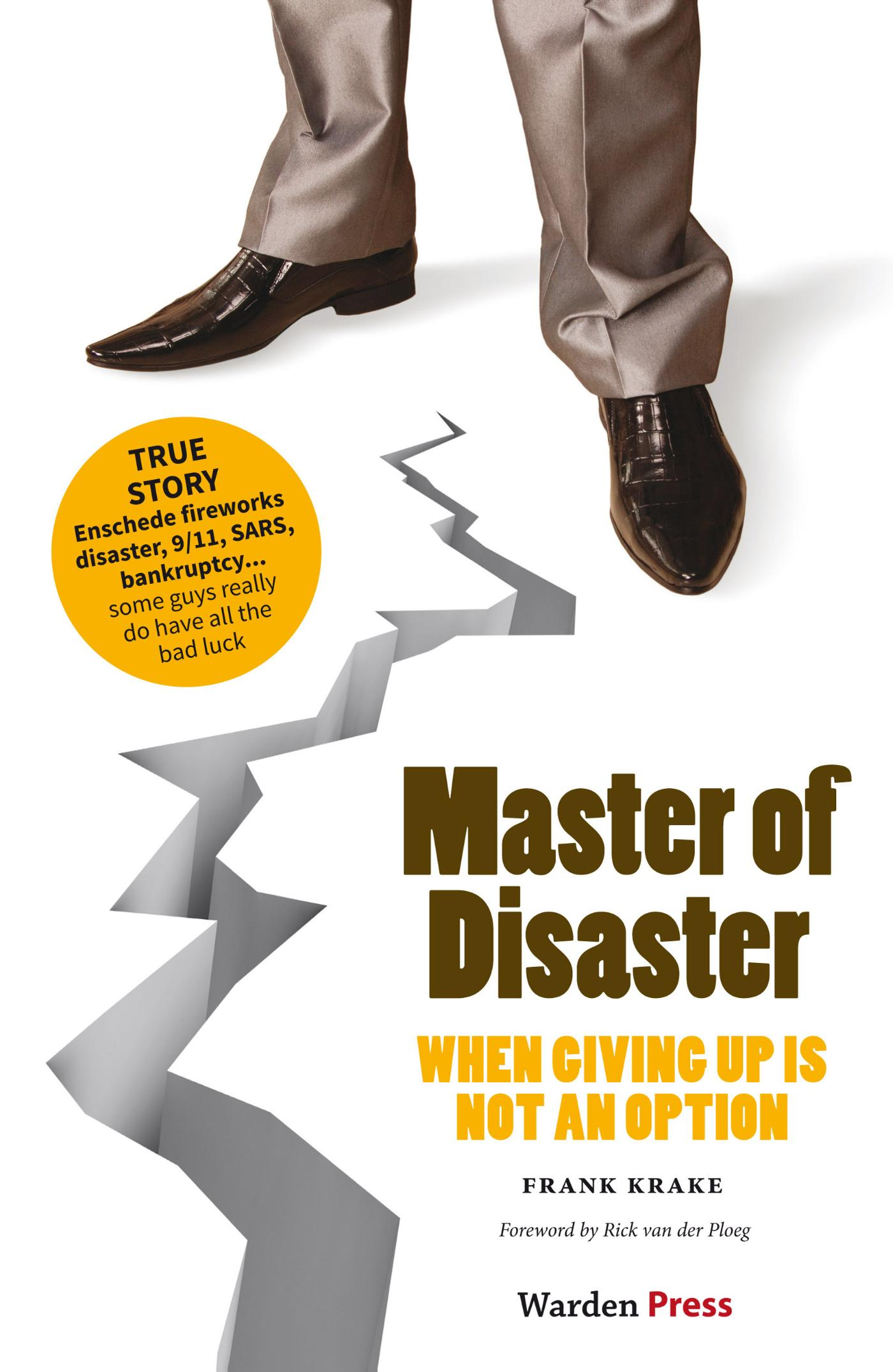 Cover Master of disaster