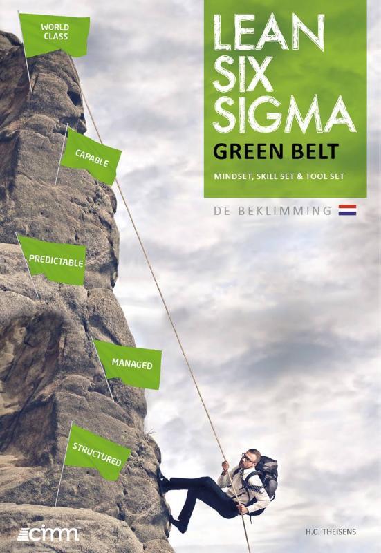 Cover Lean six sigma green belt
