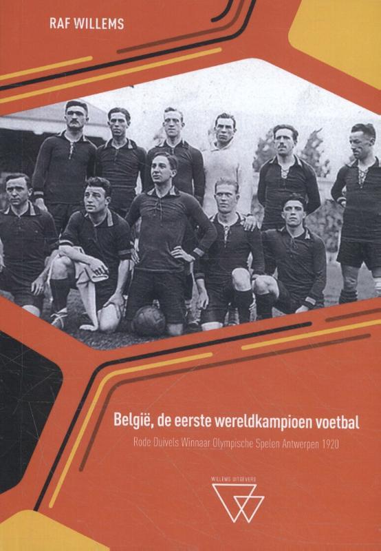 Cover België, de eerste wereldkampioen voetbal
