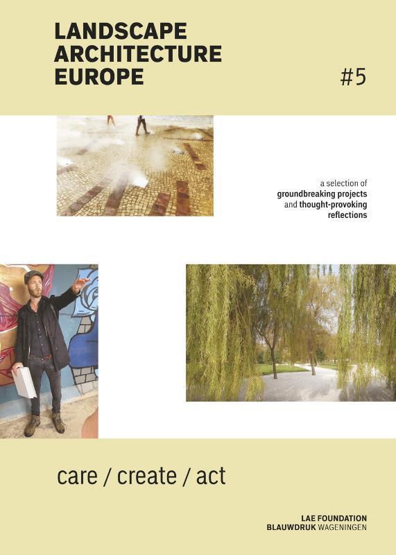 Cover Landscape Architecture Europe
