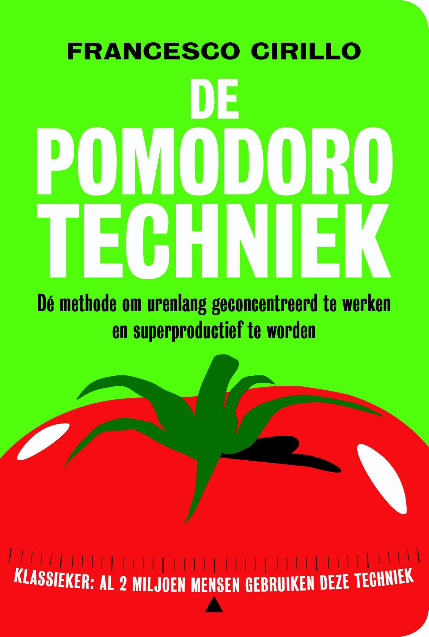 Cover De pomodoro techniek