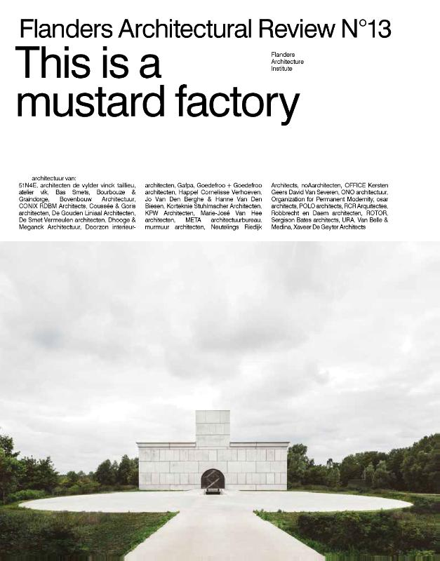 Cover This is a mustard factory