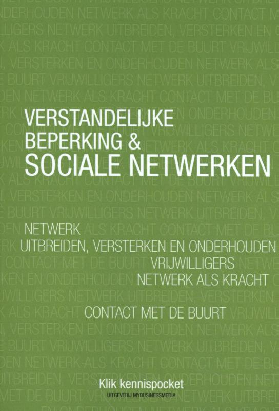 Cover Verstandelijke beperking & Sociale netwerken