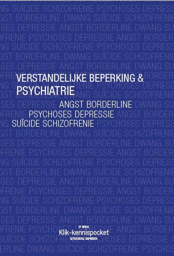 Cover Verstandelijke beperking & Psychiatrie