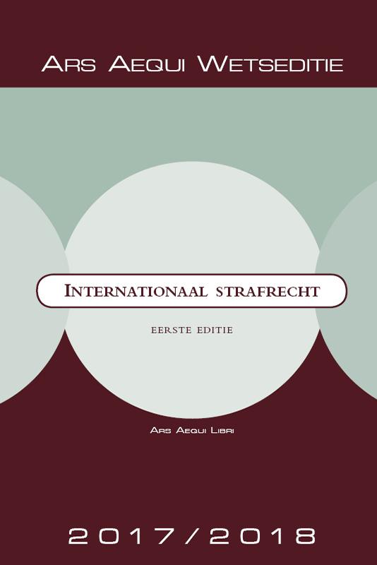 Cover Internationaal strafrecht 2017/2018