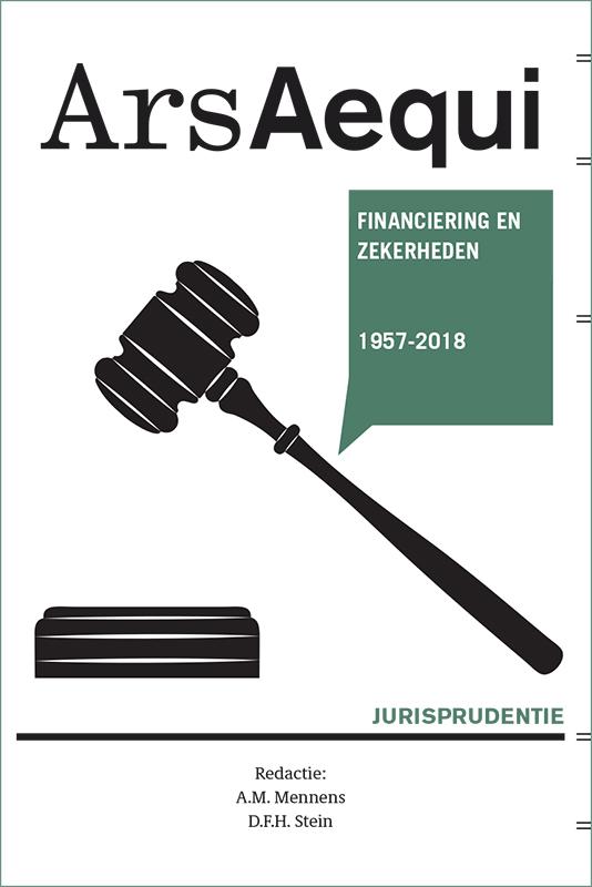 Cover Jurisprudentie Financiering en zekerheden 1957-2018