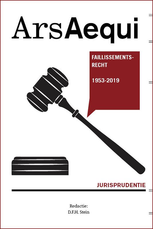 Cover Jurisprudentie Faillissementsrecht 1953-2019