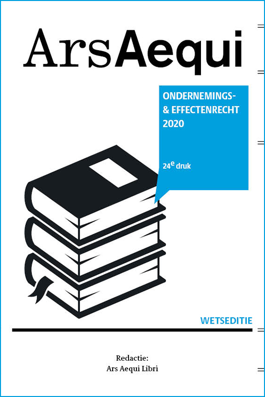 Cover Ondernemings- & effectenrecht 2020