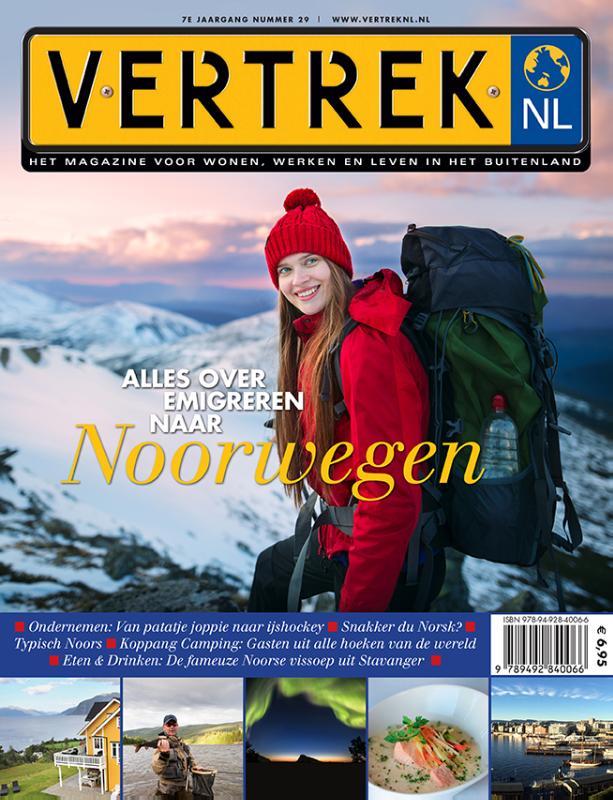 Cover Alles over emigreren naar Noorwegen
