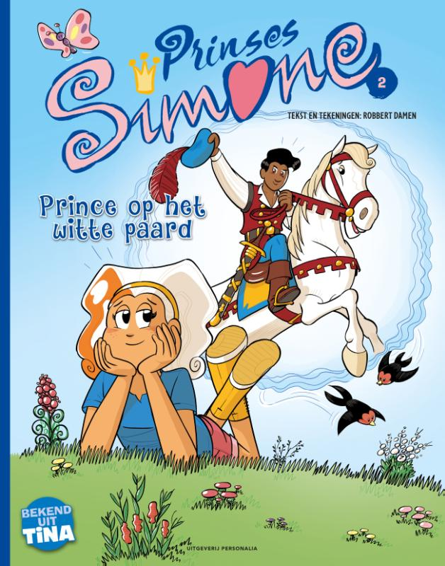 Cover Prince op het witte paard