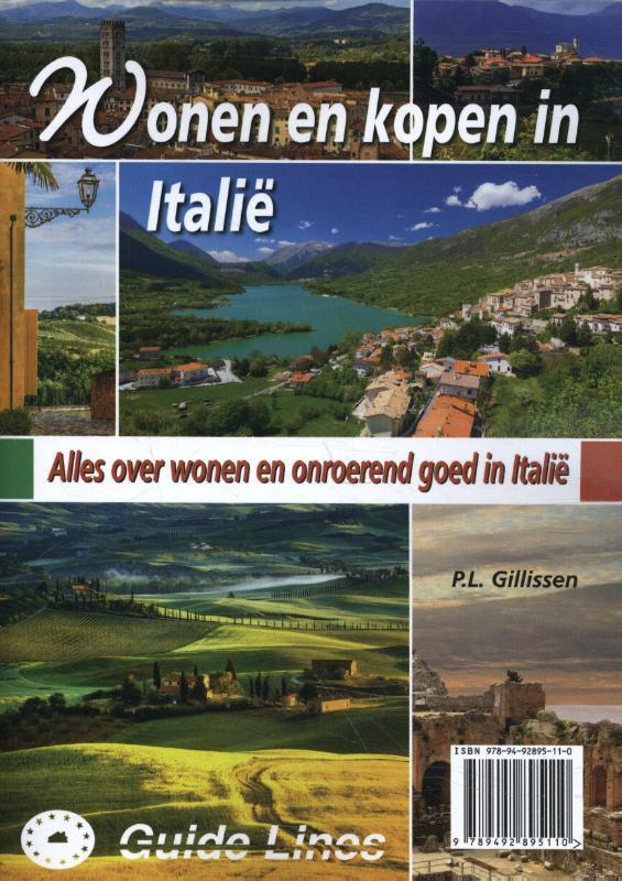 Cover Wonen en kopen in Italie