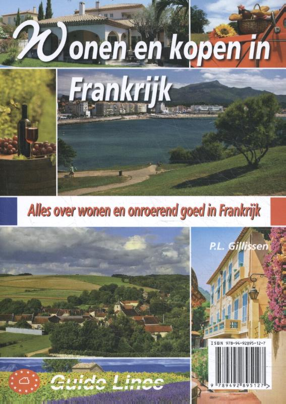 Cover Wonen en kopen in Frankrijk