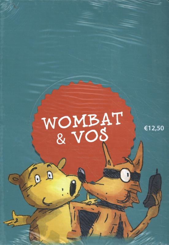 Cover Wombat & Vos zoeken het gevaar display 6 ex.