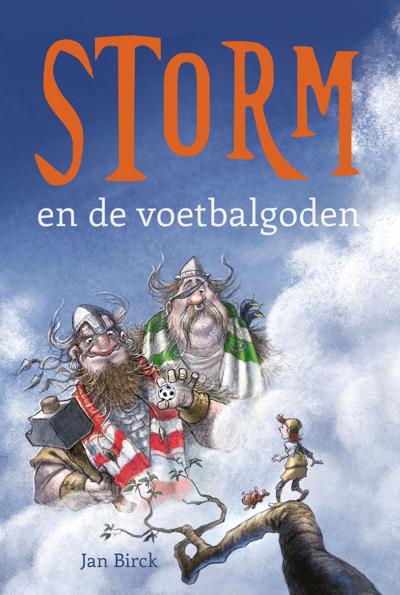 Cover Storm en de voetbalgoden