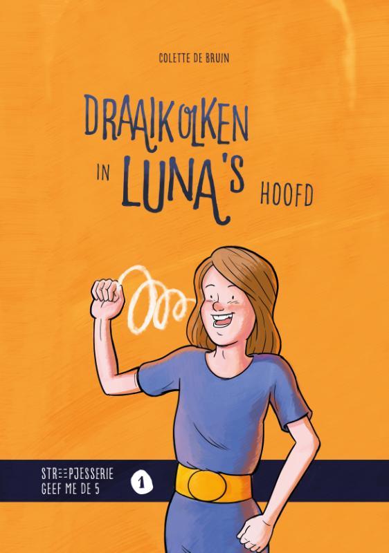 Cover Draaikolken in Luna's hoofd