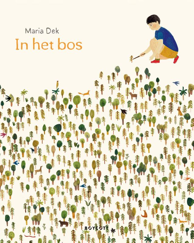 Cover In het bos