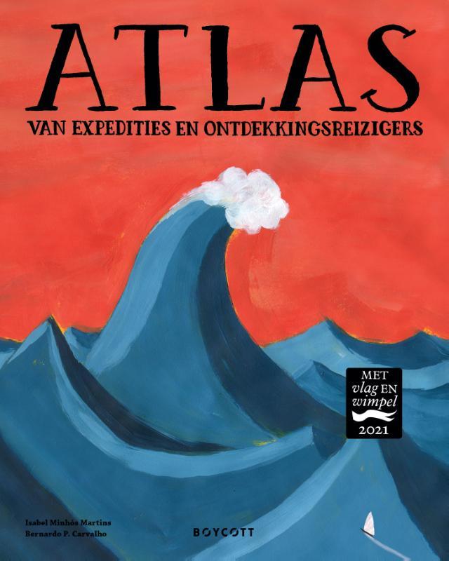 Cover Atlas van expedities en ontdekkingsreizigers