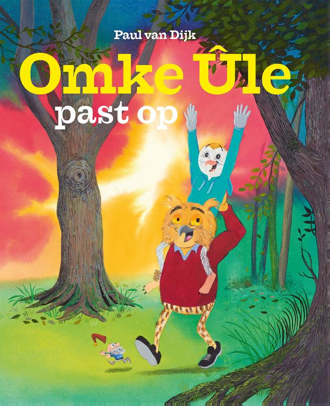 Cover Omke Ûle past op