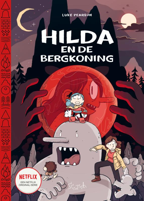 Cover Hilda en de bergkoning