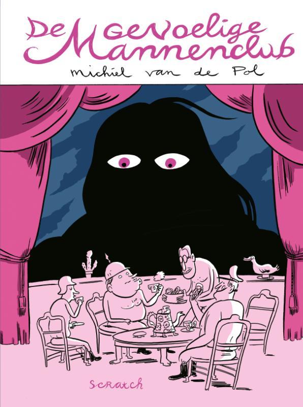 Cover De gevoelige mannenclub