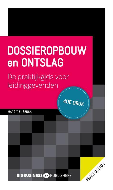 Cover Dossieropbouw en ontslag - 4de druk