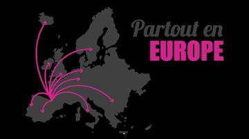 Livraison des produits VIRAL dans toutes l'europe