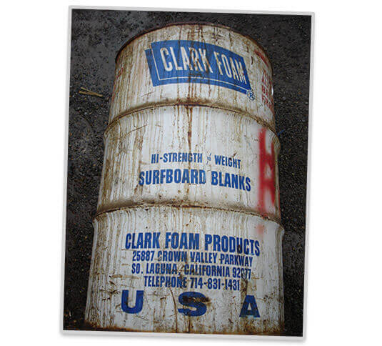 Clark Foam Closure
