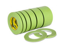 Green tape masquage surf shape