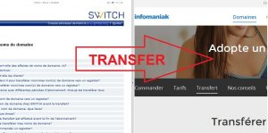 .ch/.li Domain Names Transfer – Switch/NIC to Infomaniak