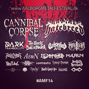 Aalborg Metal Festival 2014 is getting near