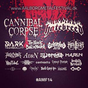 Aalborg Metal Festival 2014 is getting near