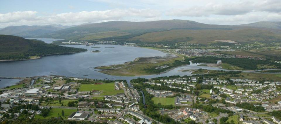 Aerial view of Fort William