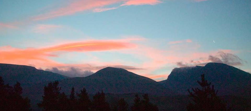 Sunrise over Ben Nevis
