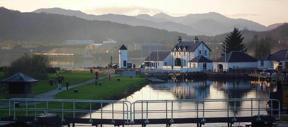 The Caledonian Canal at Corpach