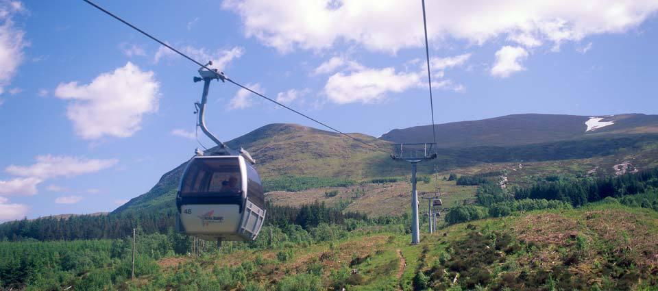Take a mountain gondola ride
