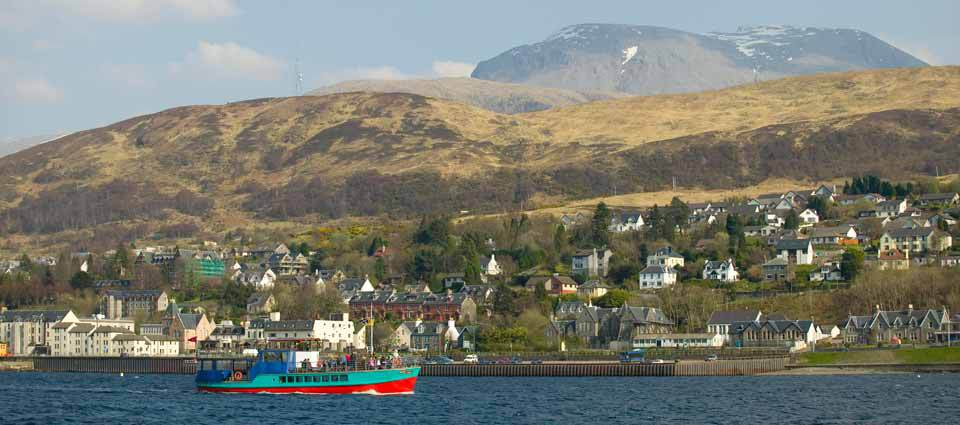 Boat trips on Loch Linnhe