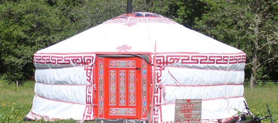 sweetheart  - red yurt