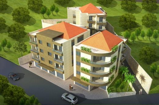 Apartments in Menyeh - مشروع الرهام العيرونية شقق فاخرة قيد الإنشاء