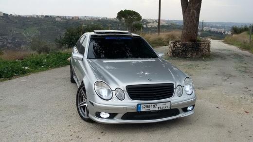 Mercedes-Benz in Maghdoucheh - Mercedes-Benz E55 AMG 2004 - 79,000 KM